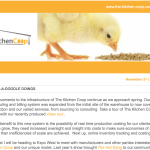 The Kitchen Coop's Newsletter