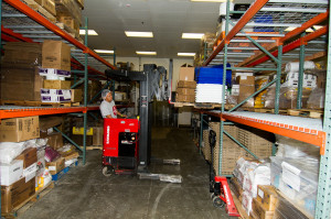 Warehouse services at The Kitchen Coop